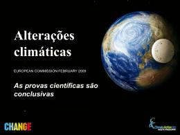 Alterações climáticas - European Commission