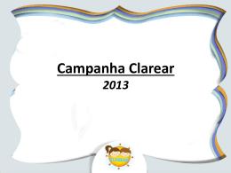 CLAREAR_Resultados 2º Semestre 2013
