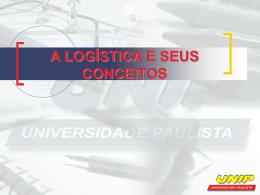 a logística e seus conceitos