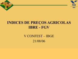 Índice de preços agrícolas