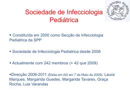 Diapositivo 1 - Sociedade Portuguesa de Pediatria