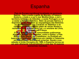 Espanha - So aulas