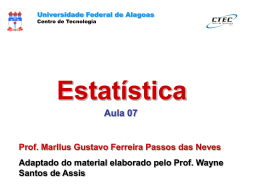 Exemplo - Universidade Federal de Alagoas