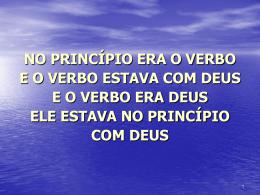 jesus é o verbo!