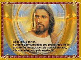 OBRIGADA SENHOR DEUS