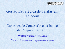 Gestão Estratégica de Tarifas em Telecom