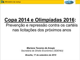 cartéis e licitações - Mariana Tavares de Araujo
