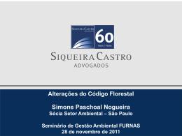 Alterações do Código Florestal