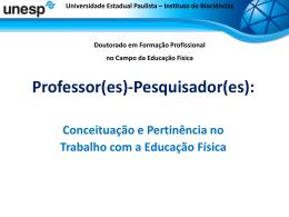 UNESP – Univ Estadual Paulista campus de Rio Claro