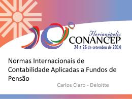 Carlos Claro - Associação Nacional dos Contabilistas das