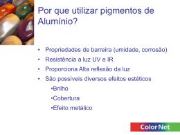 Pigmentos de Alumínio