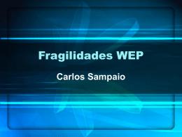 Fragilidades WEP