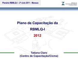 Apresentação Tatiana Claro - Cicma - Documentos