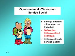 O Instrumental - Técnico em Serviço
