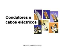 Condutores e cabos eléctricos