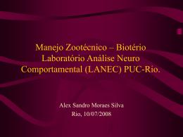Biotério Laboratório Análise Neuro Comportamental (LANEC)