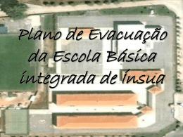Plano de Evacuação da Escola