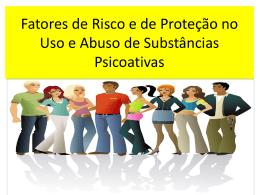 Prevenção ao uso de drogas: Fatores de risco e Fatores de Proteção