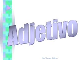 Adjetivo - JN Concursos