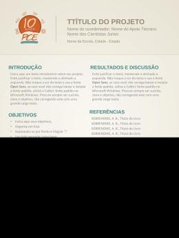 Banner Institucional - PCE Amazonas | Programa Ciência na Escola