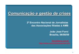 Forni - Comunicação e Gestão de crises