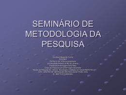 aula de metodologia