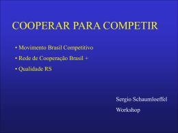 Cooperar para Competir - Movimento Brasil Competitivo