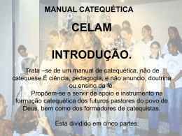 celam catequese