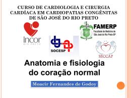 Anatomia e fisiologia do coração normal