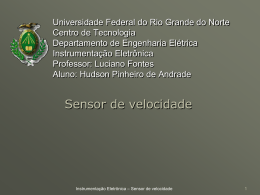 Medidor_de_velocidade - DEE - Departamento de Engenharia