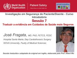 Perguntas da Sessão 7 - World Health Organization