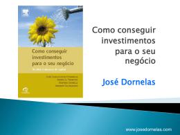 empreendedorismo6 - Empreendedorismo – Prof. José Dornelas