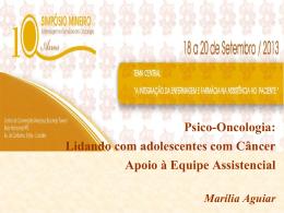 Apoio À equipe Assistencia - Marília Aguiar