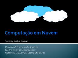 Computacao em Nuvem