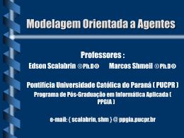 Modelagem orienaT - Programa de Pós