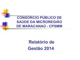 SUS SISTEMA ÚNICO DE SAÚDE - consórcio público de saúde da