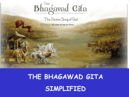 Bhagavad Gita - Ensino Religioso
