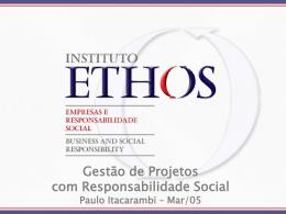 Missão - Instituto Ethos