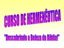 curso de hermenêutica (ppw)