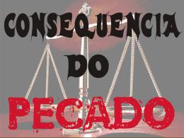 Conseqüência Pecado