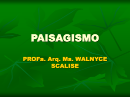 PAISAGISMO