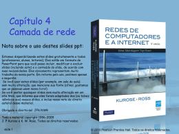 Camada de rede - Professor Luiz