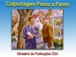 colportagem passo a passo - Igreja Adventista do Sétimo Dia