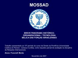 mossad - IBEI - Instituto Brasileiro de Estudos Islâmicos