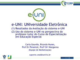 20071207.eUNI.CapacitacaoProfessoresTutores