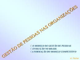 A. Fischer GESTÃO DE PESSOAS NO BRASIL - Erudito FEA-USP