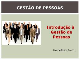 GESTÃO DE PESSOAS - Universidade Castelo Branco
