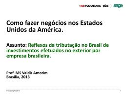 Valdir de Oliveira Amorim, IOB - Conselho Federal de Contabilidade