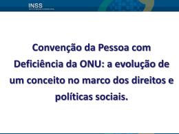 Consequências do Modelo Social da Deficiência.