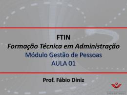 FTAD - Gestão de Pe..